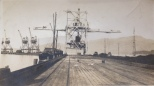 Coal Grab on Gladstone Pier