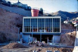 Tunnel construction, 1964