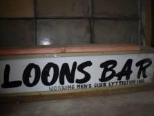 Loons Bar Sign